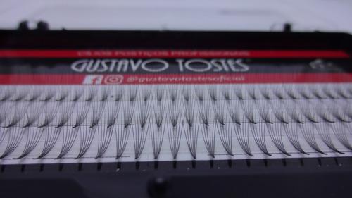 cílios postiços 6d volume russo 0.07 c 11mm gustavo tostes