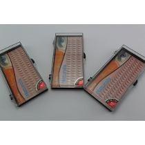 cílios tufos sem nó 6d (6 fios) de seda navina volume russo