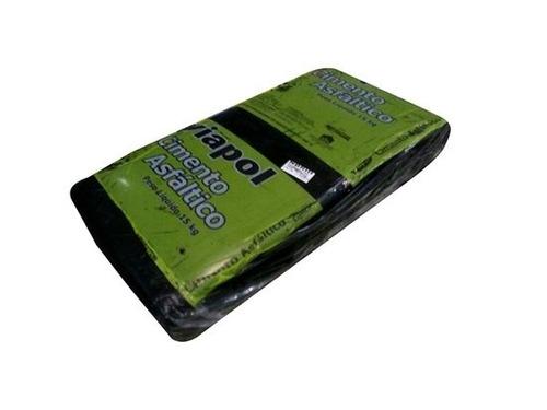 cimento asfaltico pixe betume viapol nbr iii caixa c/15kg b