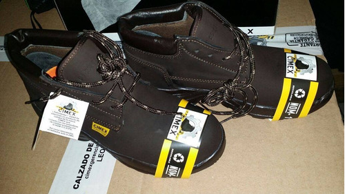 cimex botas piel cafe nobuck