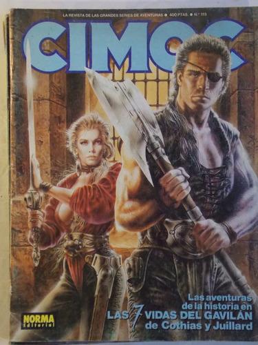 cimoc, comic de series y aventuras español, 1987, nº 115