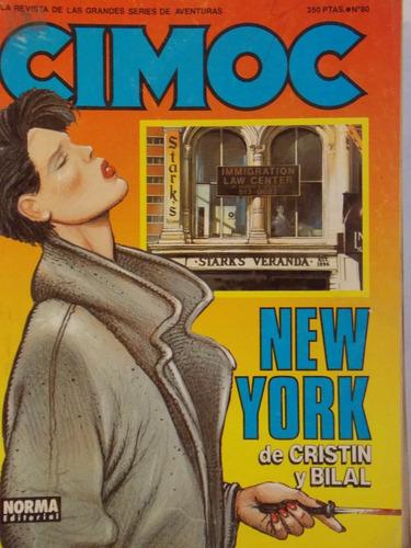 cimoc, comic de series y aventuras español, 1987, nº 80