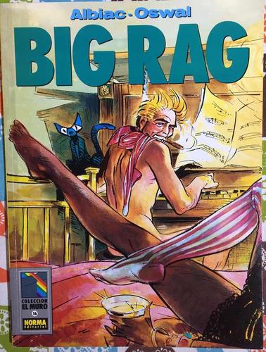 cimoc extra color big rag saga completa editorial norma