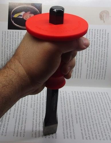 cincel con proteccion para martillo seguridad para su mano