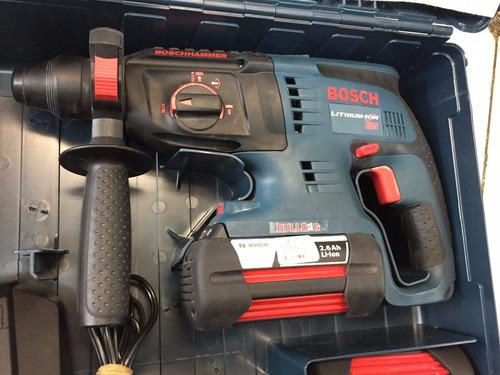 cincelador y rotomartillo bosch 36 volts 2 pilas como nuevo