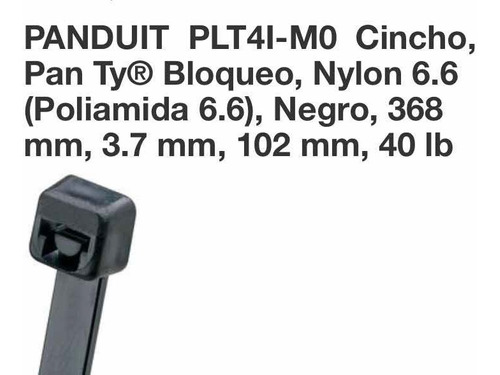 cincho panduit plt4i-m0