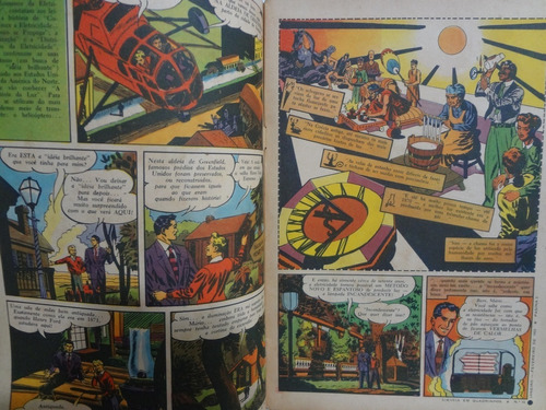 ciência em quadrinhos nº 10  história da luz 1955