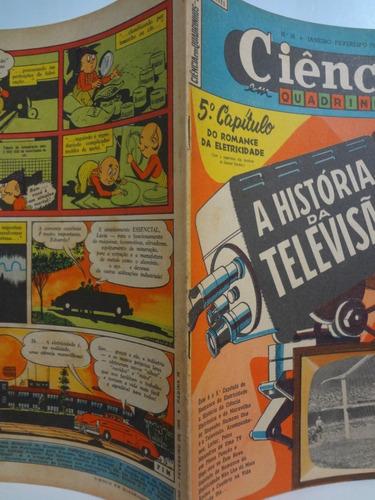 ciência em quadrinhos nº 16  história da televisão 1956