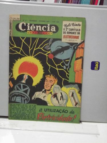 ciência em quadrinhos nº 8 utilização  eletricidade 1954 pz4
