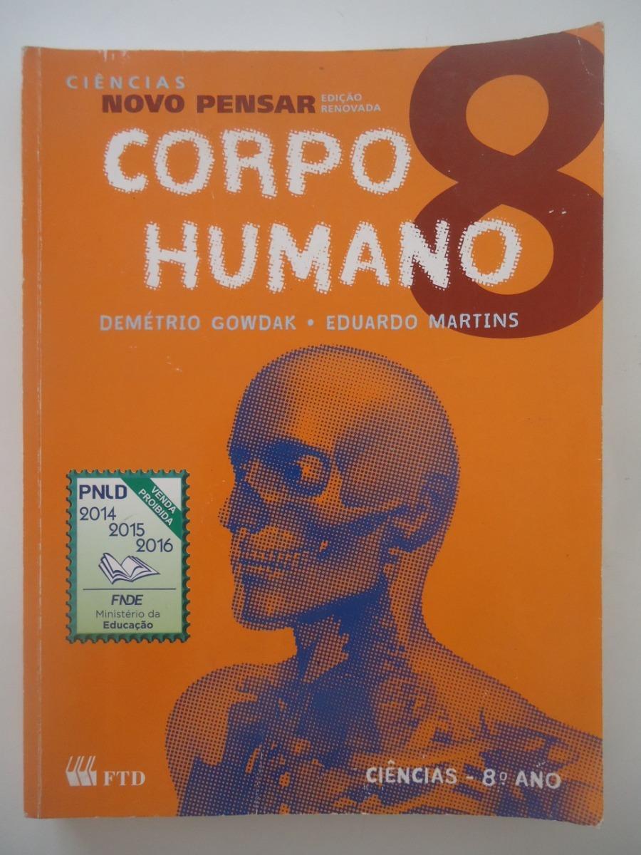 ee1ee1b0a ciências novo pensar corpo humano 8º ano. Carregando zoom.