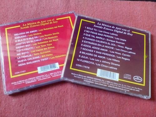 cinco latinos - rebeldes enrique guzman 2 cds nac 2004 mdisk