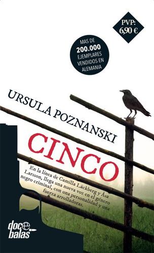 cinco(libro novela y narrativa extranjera)
