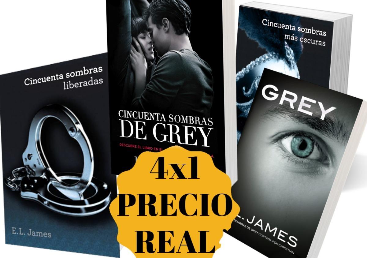 Cincuenta 50 Sombras De Grey +3 Libros (digital) Precio Real - Bs. 5.000,00
