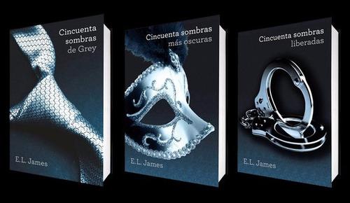 cincuenta sombras de gray trilogía al mejor precio c/u