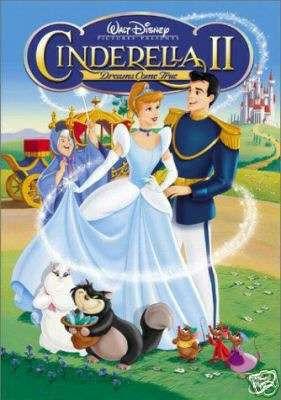 cinderella ii ( dvd original, no copias)