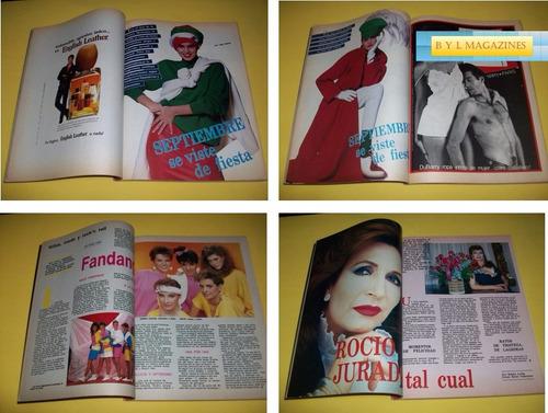 cindy crawford fandango revista claudia 1987 rocio jurado
