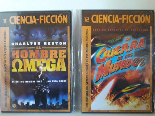 cine de ciencia ficción. dvd varios ejemplares
