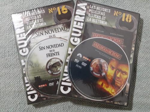 cine de guerra. varios dvd. originales. cerrados