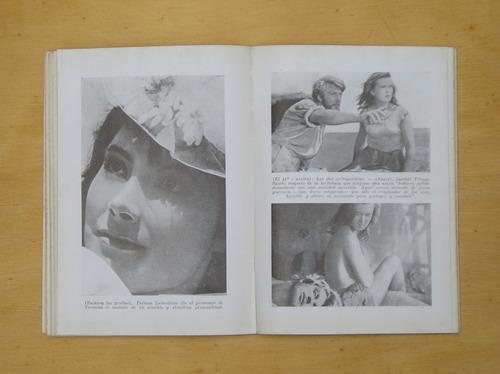 cine!!  el guion base del film por mario y stelio cro 1960