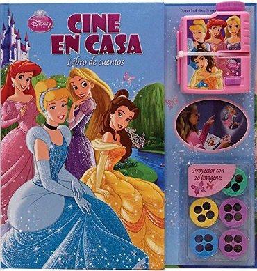 cine en casa: disney princesas libro de cuentos - autores va