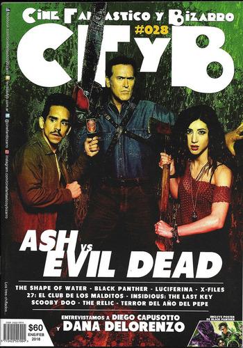 cine fantástico y bizarro #28 ash vs evil dead black panther