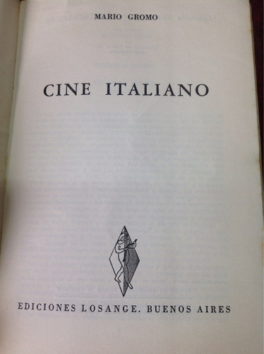 cine italiano por mario gromo