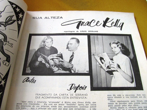 cinelandia 1956 marilyn monroe egan peck grace kelly . crain