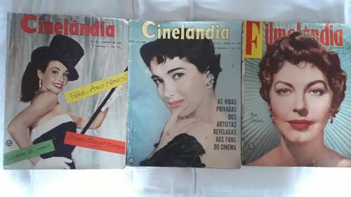 cinelândia e filmelândia venda avulsa preço r$30,00 cada* #