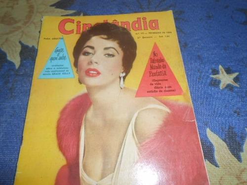 cinelândia lote com 5 revistas sophia loren elizabeth taylor
