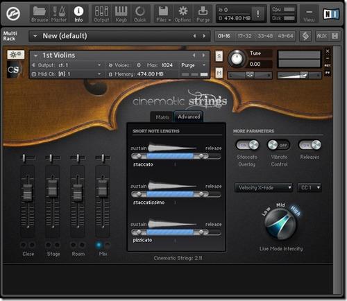 cinematic strings 2 ( vst plugins kontakt / windows mac )