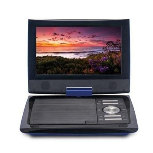 cinematix 70669-pg reproductor de dvd portátil con 6 + hora