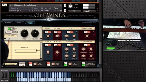 cinesamples brass-woodwins-core e pro (win&mac) 60gb