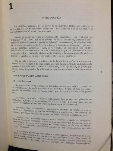 cinética química - serie de química - monografía no. 18