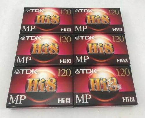 cinta 8mm marca tdk premiun 120 para videocamaras