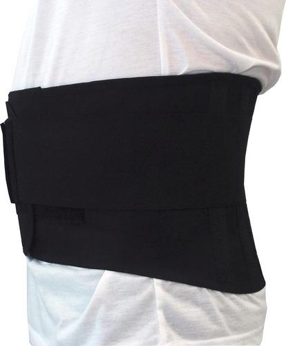 cinta abdominal coluna lombar c/ hastes flexíveis 600