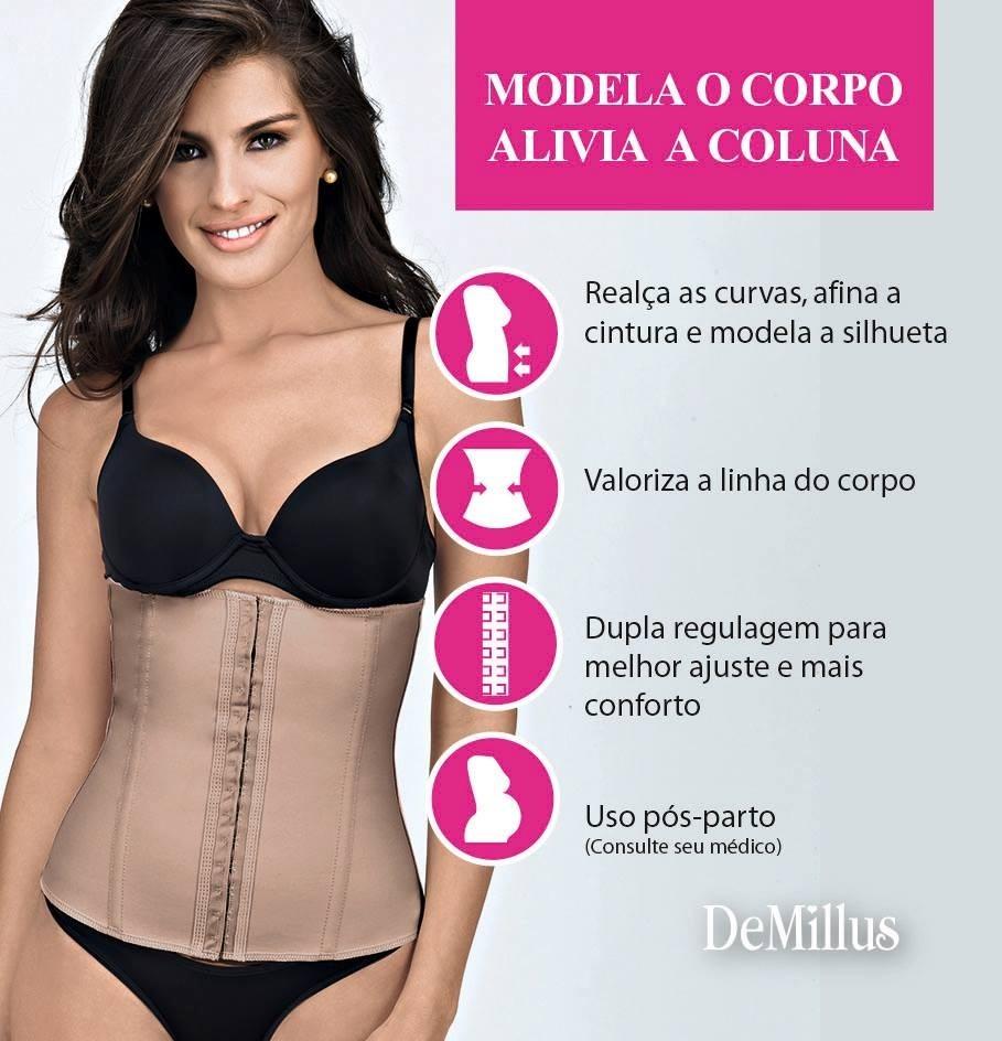 903977912 cinta abdominal modeladora   demillus ( pós parto-cirurgia). Carregando  zoom.