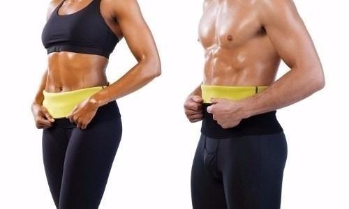 cinta abdominal modeladora queima gordura emagrecedora hot