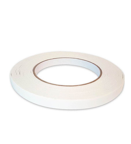 cinta adhesiva bifaz 10 mm x 50 mts montaje resiste calor