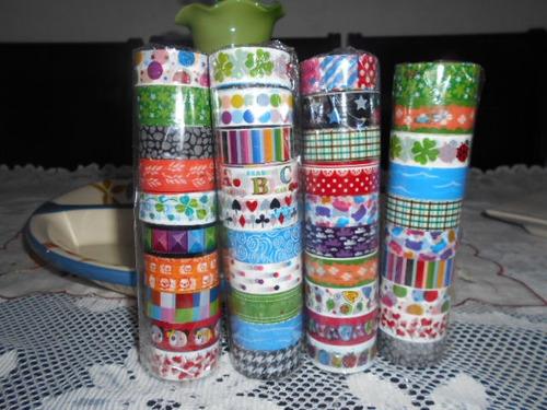 cinta adhesiva con diseño
