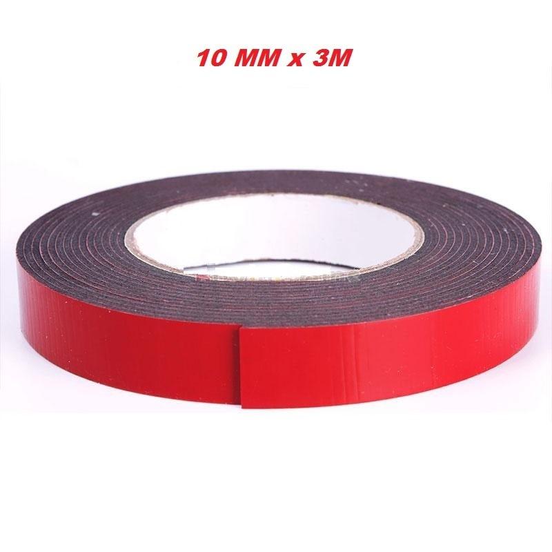 Cinta adhesiva doble cara 3 metros 1cm ancho 1mm espesor - Cintas adhesivas doble cara ...