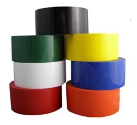 cinta adhesiva señalizacion industrial vinilo 5cm.x30mt