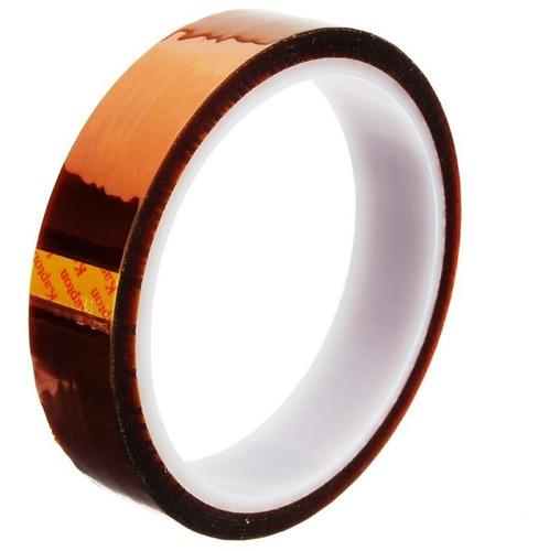 cinta adhesiva termica kapton resistente al calor reprap 2cm
