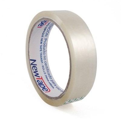 cinta adhesiva transparente para embalar 2,4cm x 40mts
