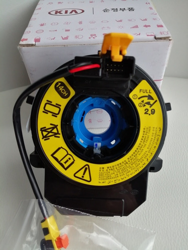 cinta airbag clockspring yoyo espiral kia río genuino korea