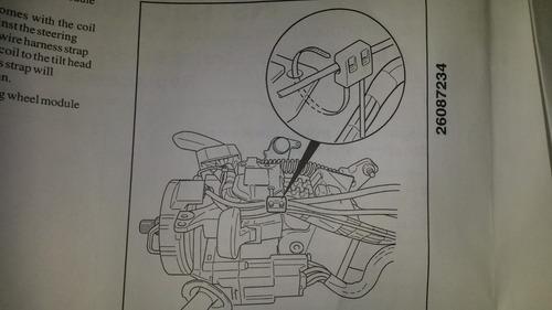 cinta airbag tahoe - silverado 2005 gm original.