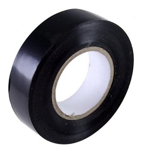 cinta aisladora 10 mts color negro autoextinguible inteck