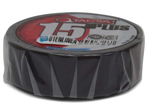 cinta aisladora tacsa electrica electricidad 10mts cable pvc