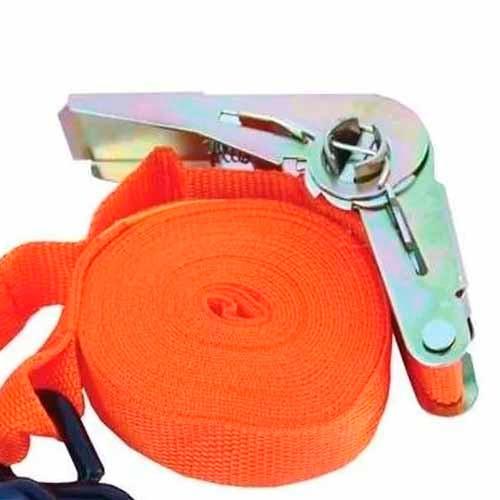 cinta amarre carga crique trailer 5 mts x 5cms reforzada