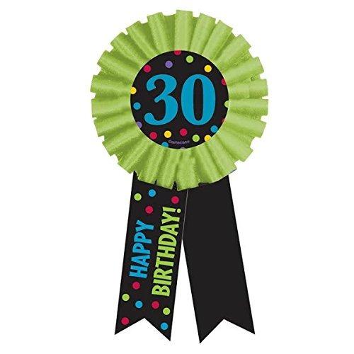 cinta amscan glitzy brillante colored premio con impresión 3
