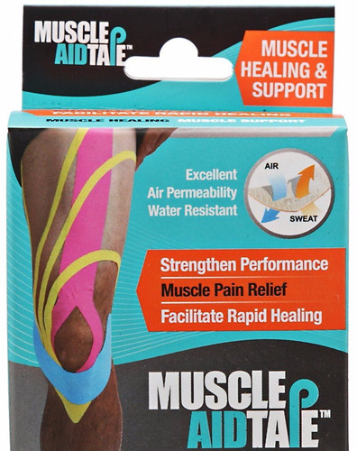 cinta ayuda muscular - muscle aid tape